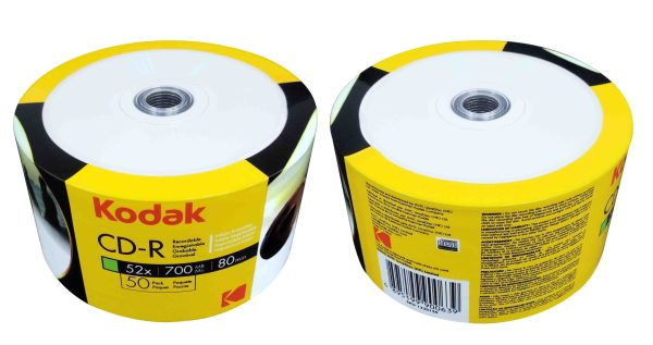 KODAK CD R 50 PACK