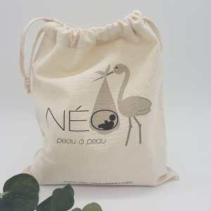Pochon Néo peau à peau, pour emballer vos cadeaux Néo