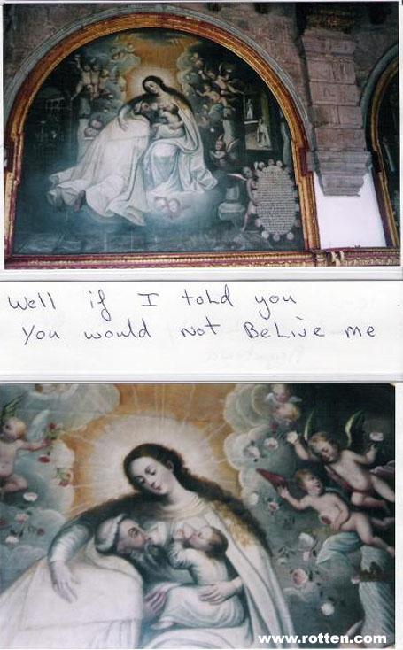 Virgen guarra tetona