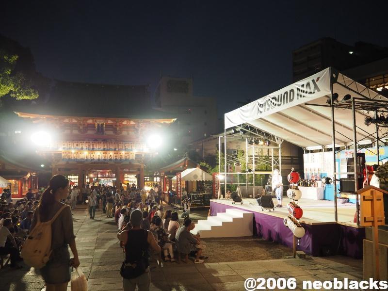 夏の夜 #夏祭り#焼肉#Bar Gospel