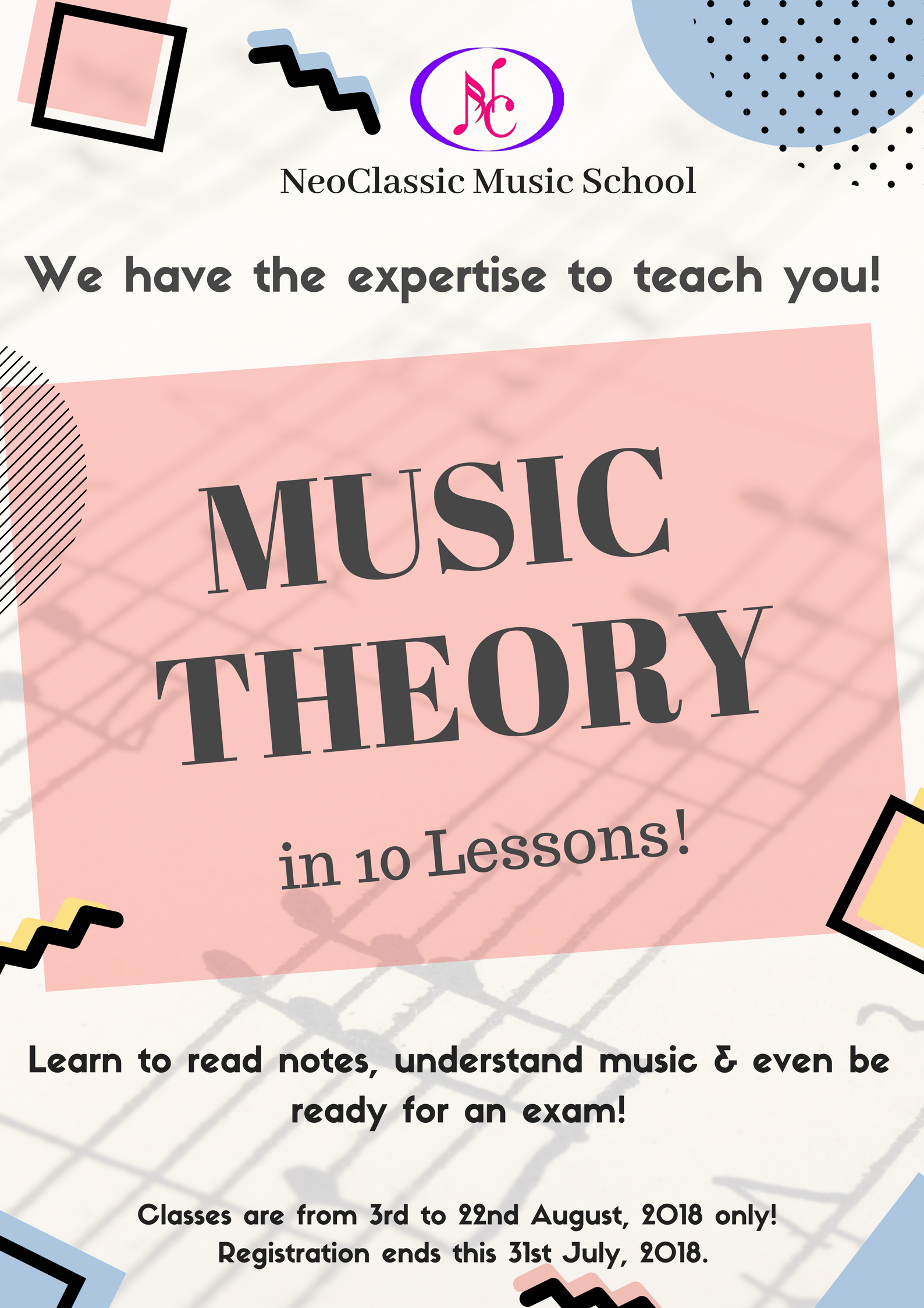 benefits of music theory classes