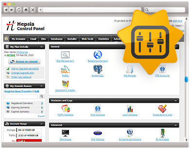 Web Hosting Control Panel