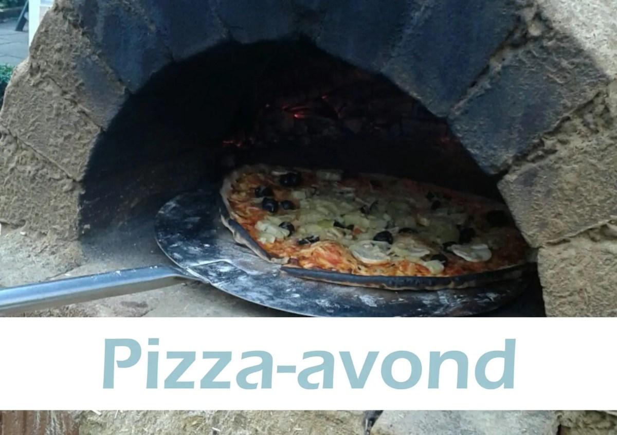 PIzza avond Geloven in Moerwijk Den Haag Pizza Moerwijk Den Haag Kerk in Moerwijk Bettelies Westerbeek Neo de Bono