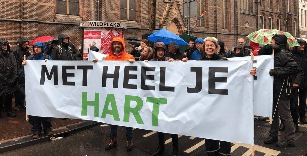 Klimaatstaking Micha Nederland Tear Groene Kerken Annemarthe Westerbeek Bettelies Westerbeek Neo de Bono Geloven in Moerwijk Geoven in Groen