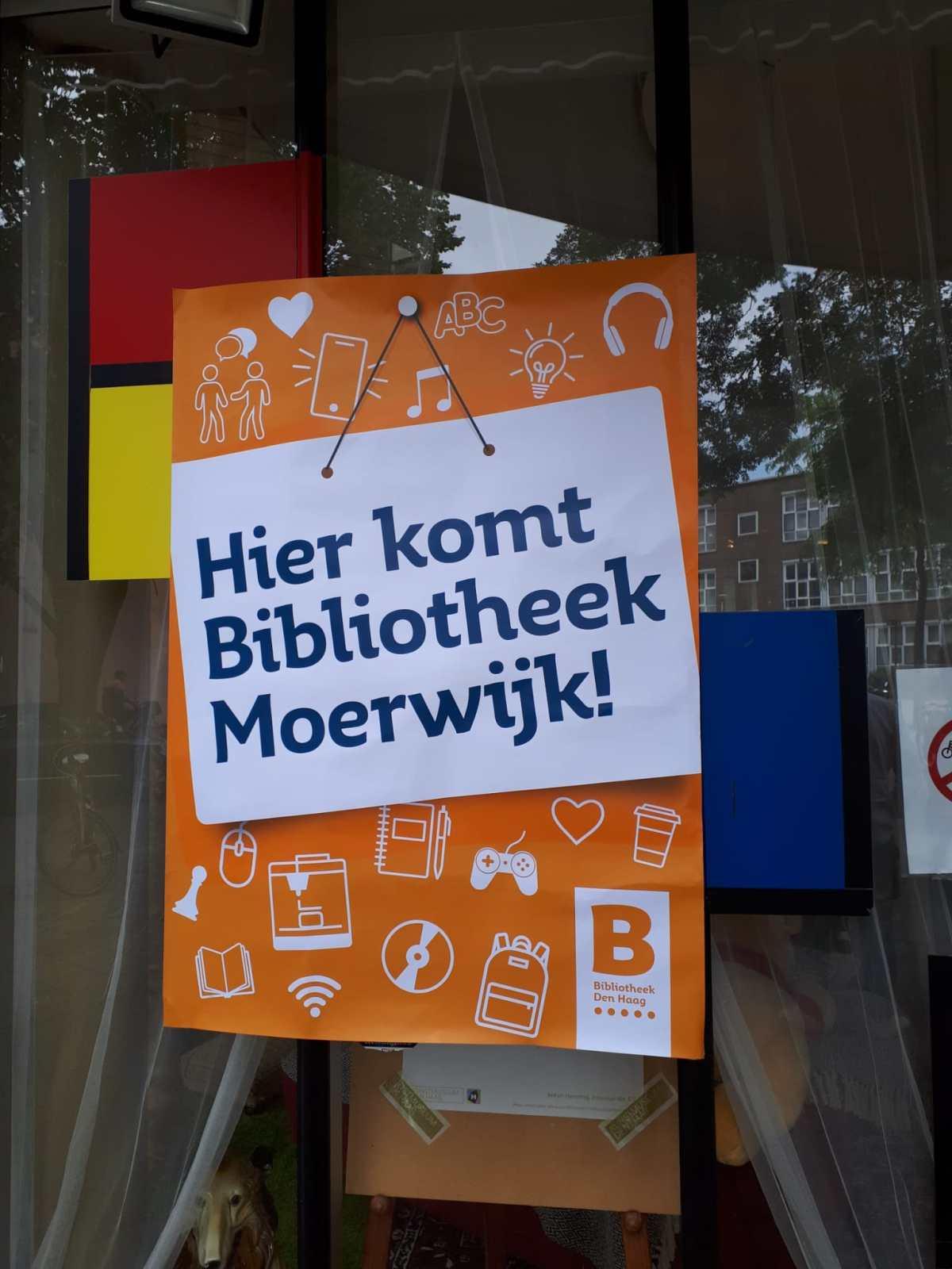 Bibliotheek Moerwijk HWW Zorg Twickelstraat Moerwijk Cooperatie Neo de Bono