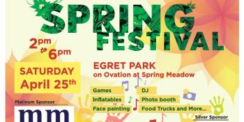 Michael Mei Real Estate Stonegate Community Spring Festival Post Card-Front side_ Neo Design Concepts Print Marketing Graphic Design