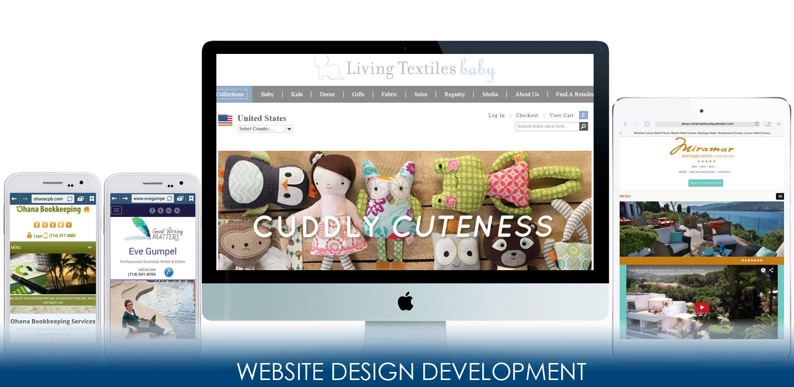Neo Design Concepts Website Design Development Banner