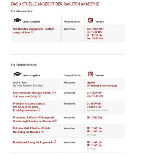 Webinars της Ακαδημίας Rakuten για τους εμπόρους
