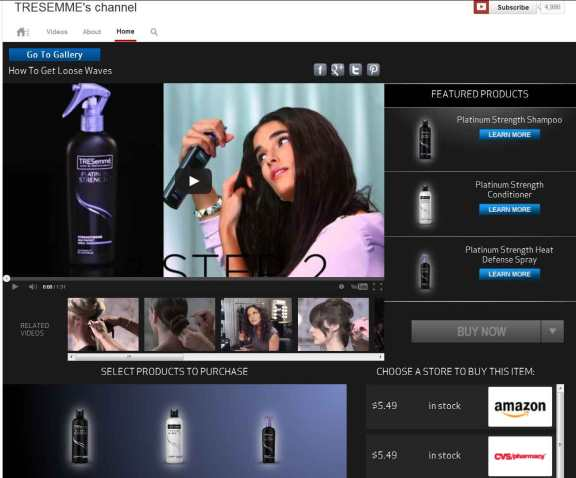 Tresemme's-channel