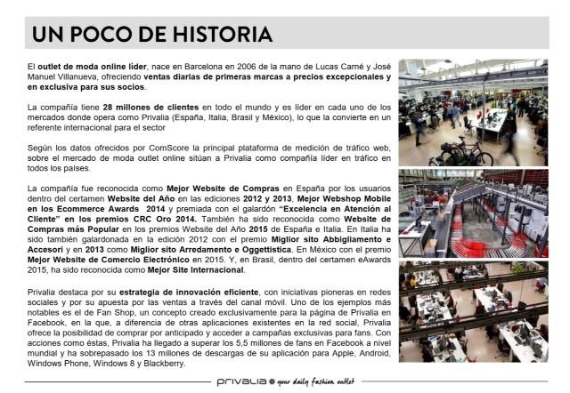 Privalia History