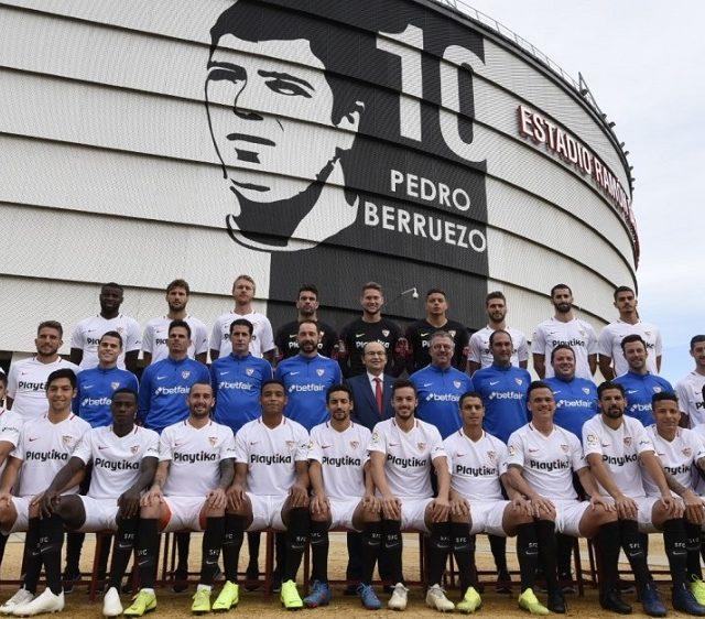 Imagen oficial del Sevilla FC para la temporada 2018-2019. Imagen SevillaFC.es