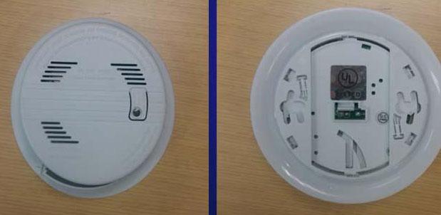 18,000 Counterfeit Smoke Detectors Recalled