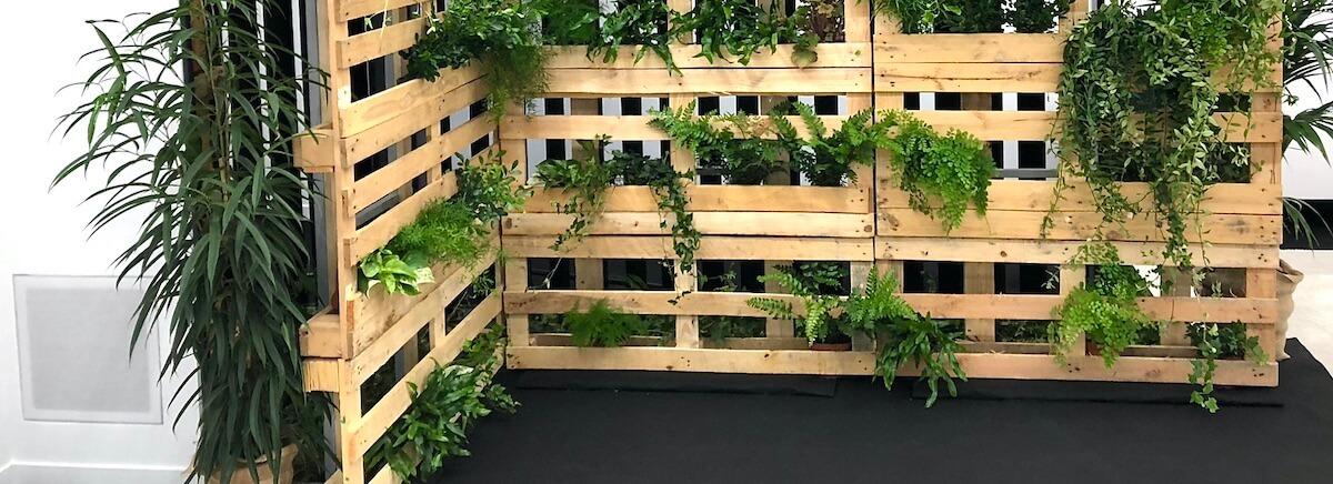 creer son jardin vertical en palette