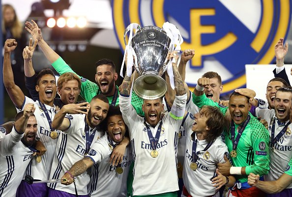 Real Madrid Campeón Champions League 20162017