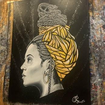Queen B (Beyoncé) by C. Ray