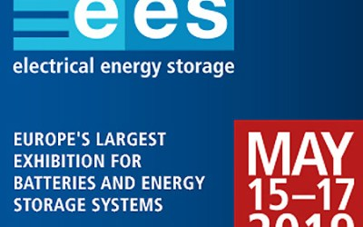We are exhibiting at EES (Electrical Energy Storage) 2019