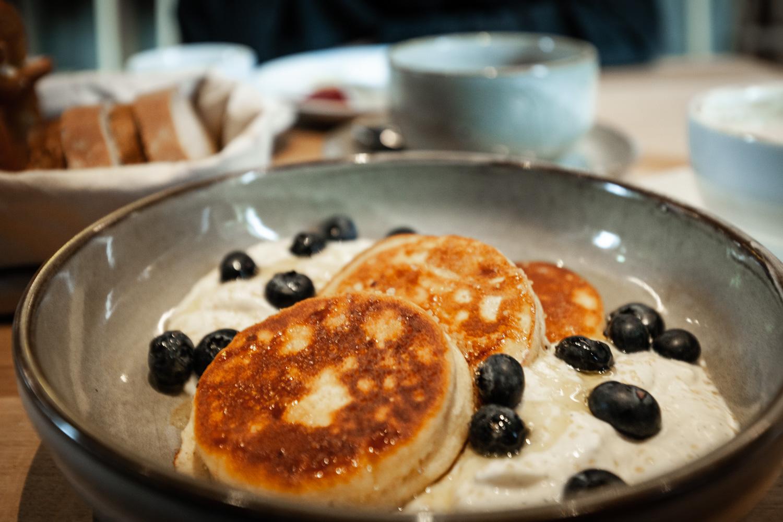 Frühstücken in Augsburg. Das Frühstück in der Blauen Kappe. Foto: Neoheimat
