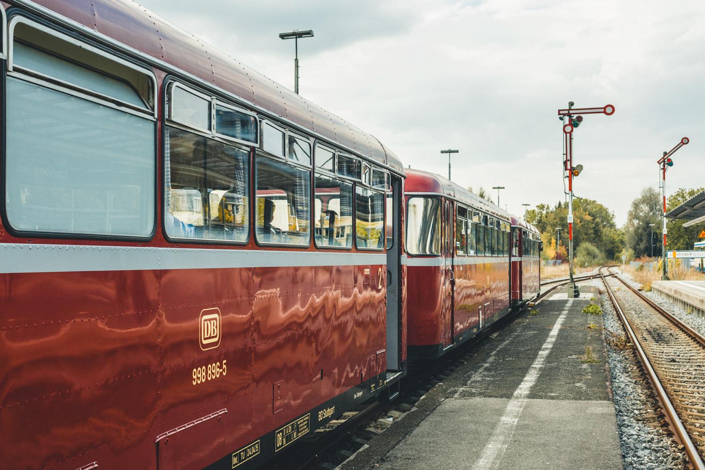Die Lech-Romantik-Bahn. Foto: Neoheimat