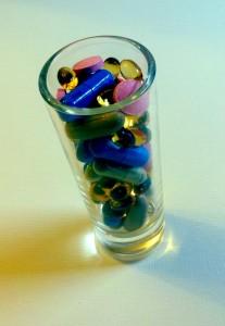 vitaminshotglassretro