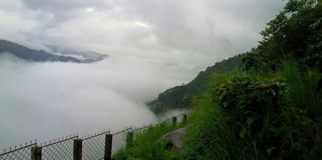 Misty view from Sasippara