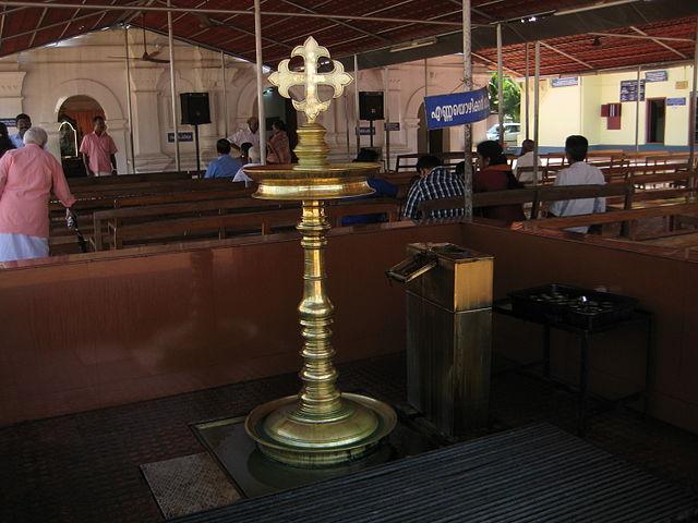 Nilavilakku Syrian Christian Kerala.JPG