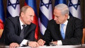 Regionális fejleményekről tárgyal Netanjahu Putyinnal a jövő héten