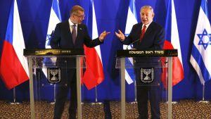 Csehország és Szlovákia is szorosabbra fűzi kapcsolatát Izraellel