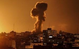 Izrael megtorló légicsapást mért a Gázai övezetre, miután onnan rakétát lőttek ki területére