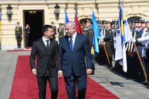 Kétnapos látogatásra érkezett Ukrajnába Netanjahu