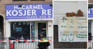Kamu bomba egy amszterdami kóser étteremben