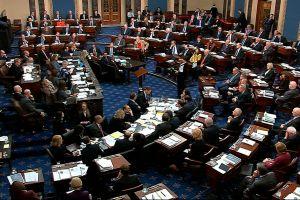 Megszavazták a Trump elleni impeachment tárgyalás szabályait a Szenátusban