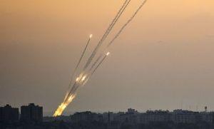 Rakétatámadás a Gázai-övezetből Izrael ellen