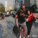 """""""Mintha csak háború lenne"""" — helyszíni tudósítás a bejrúti katasztrófáról"""