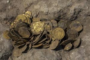 Iszlám pénzérme izraeli ásatáson