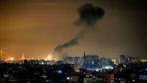 Izrael légi csapásokkal válaszolt a Hamász rakétájára