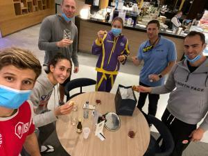 Olimpiai bajnokok kidusa Budapesten