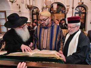 Nagyon boldogok a marokkói zsidók