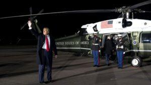 Trump nyilatkozatban ígérte, hogy rendben átadja a hatalmat