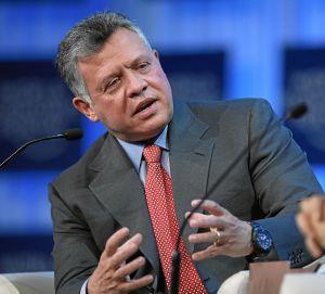 Ganz titokban találkozott II. Abdullah jordán királlyal