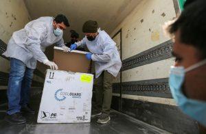 A palesztinok 64 ezer adagnyi oltóanyagot kaptak a Pfizertől és az Egészségügyi Világszervezettől