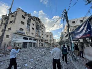 Az egyiptomi hírszerzés vezetője Gázában tárgyalt a tűzszünetről