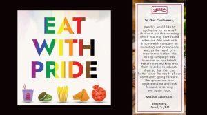 Véletlenül Pride-os akciót hirdetett két New York-i kóser étterem
