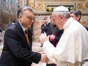 Ferenc pápa találkozik Orbán Viktorral és Áder Jánossal