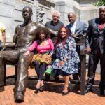 300 kilós bronzszobrot kapott George Floyd