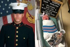 Megszületett a kabuli merényletben megölt tengerészgyalogos kislánya
