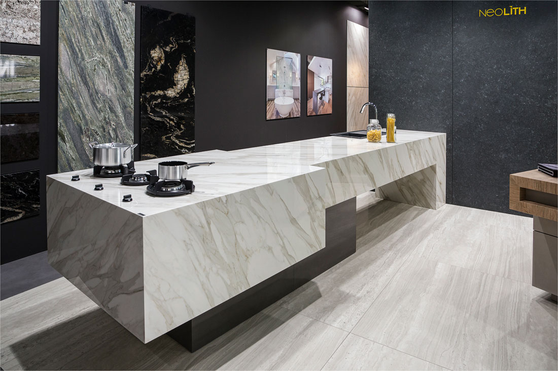 Encimera Neolith Calacatta  Neolith Kitchen