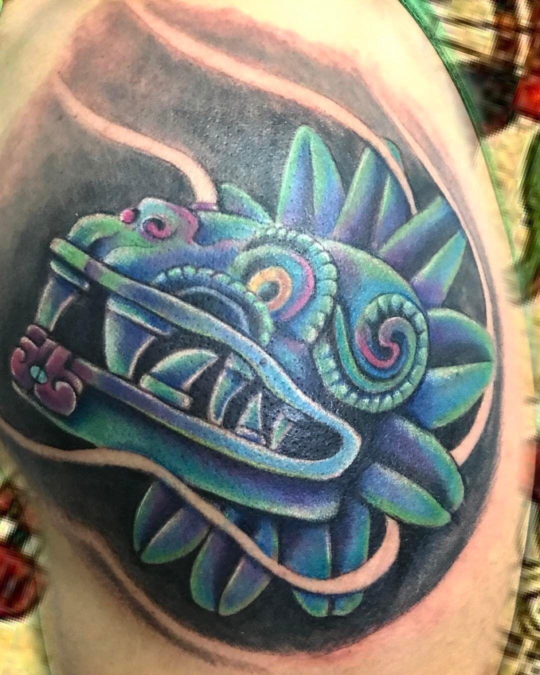 Tatuaje De Quetzalcoatl Para Mujer