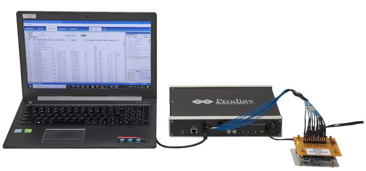 Analyseur SD / SDIO /eMMC avec PC et sondes actives