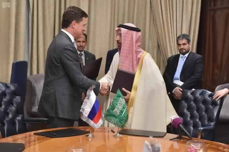 Russia and Saudi Arabia roadmap
