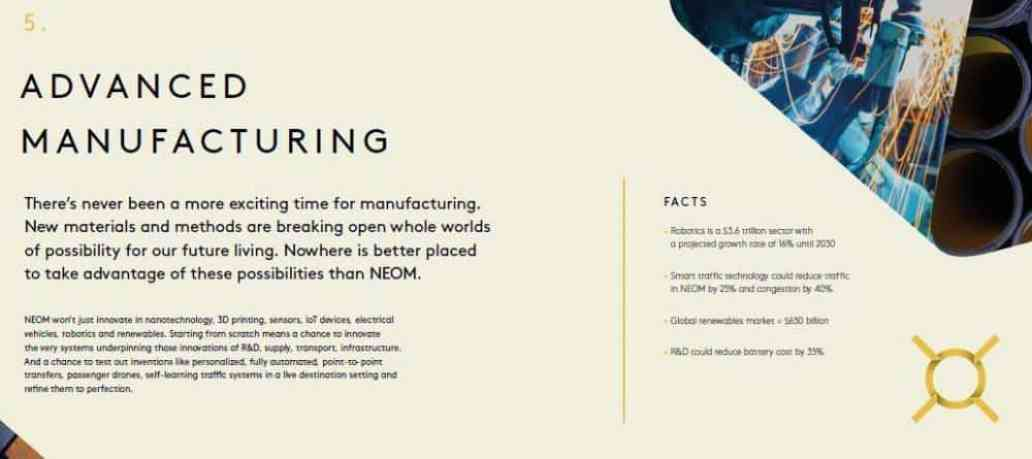 NEOM's Nine Key Sectors Will Change the World 5